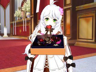 チョコあげる...